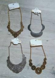 Maxi colares (novos)