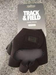 Luvas de neoprene nova -Track & Field