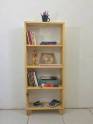 Estante Veneza Gran Pinus - Agora os seus livros tem um lugar só deles.