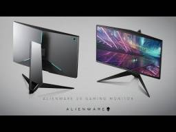 Monitor Alienware 240hz 25p aw2518hf
