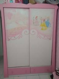 Guarda-roupa Princesas Disney