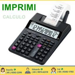Calculadora de precisão para escritorio de 2 cores com impressão