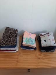 Lote roupas infantis tamanhos 8, 10 e 12
