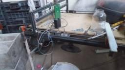 CNC 1,20×1,20 precisa de pequenos reparos