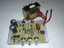Amplificador, potência máquina de música junkebox, caixa de som.