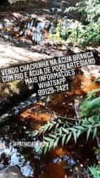 Chacrinha ,com rio água poço artesiano