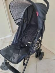 Carrinho para Bebê Passeio Fisher-Price Preto Linha Essential BB550