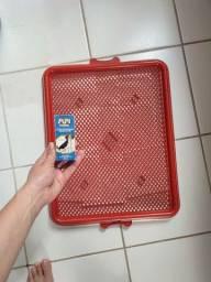 Tapete sanitário para cachorro nunca usado + adestrador sanitário