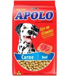 Ração apolo carne 10.1kg - cães adultos