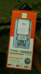 Carregador de celular turbo