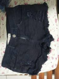 Vendo shorts jeans tam 38/40