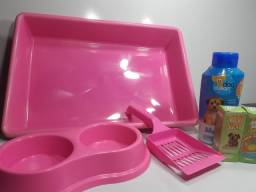 Kit higiênico para pet +, xixi sim + shampoo