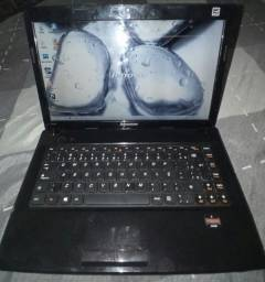 notebook lenovo.semi novo