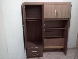 Vend_se uma cama embotida no guarda roupa