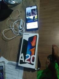 Samsung a20 novinho