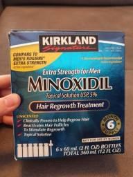 Título do anúncio: Minoxidil kirklanda caixa lacrada 6 frascos