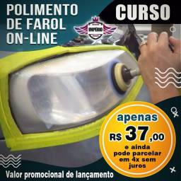 CURSO ON LINE DE POLIMENTO  DE FARÓIS