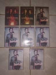 Lote DVDs de Supernatural (Sobrenatural)