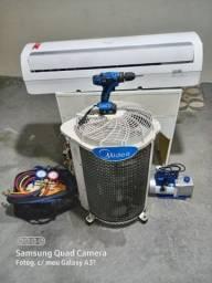 Instalação e conserto de Ar condicionado