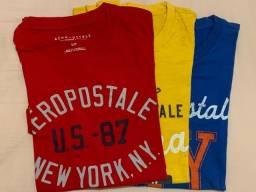 Camisas aeropostale e banana república