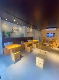 Mobília Em Pinus ( Mesas e Bancos ), Vendo Separado