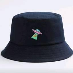 Chapéu bucket abdução