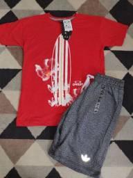 Kit camisa+bermuda,ou se preferir separado