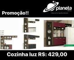 Armário Luz MONTAGEM Grátis