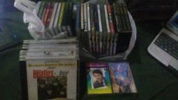 Cds,Dvds e fita cassetes musicais nacionais e internacionais