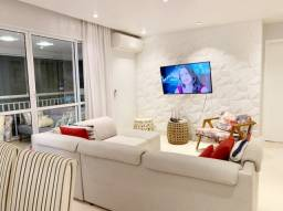 AltaVista Jarzim Zaira Mobiliado 132m² 3 suites Varanda Gourmet 2 vagas