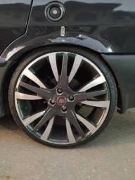 Jogo rodas Palio Sporting com pneus 185/35/17