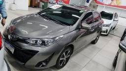 Título do anúncio: Toyota Yaris 19/19<br>XLS 1.5 flex<br>Autom <br>Couro <br>Rodas 33000km<br>Revisado<br>,João *