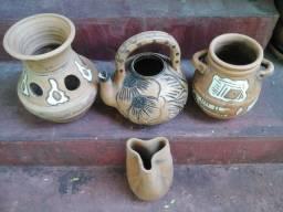Vasos de ceramica decorativos