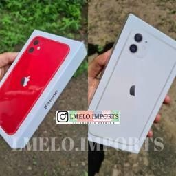 iPhone 11 128GB Branco ou Vermelho/Red | Lacrado | Nota Fiscal, Garantia | Nacional