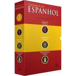 Box de livros - O essencial de Espanhol (3 volumes)