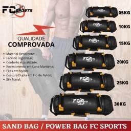 Sand Bag/ Pawer Bag profissional 7 pegadas multifuncional fc sports