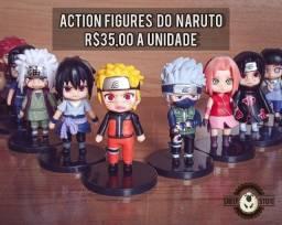 Promoção- Action Figures Naruto 1.0