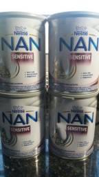 Vendo 4 latas leite NAN sensitive