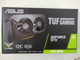 Torro asus tuf gaming gtx 1660 super 6GB 2 anos de garantia nova