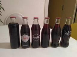 Coleção Coca Cola - garrafas históricas