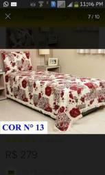 Colcha de cama solteiro
