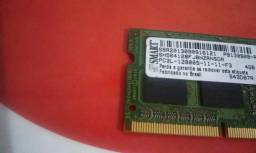 Memoria notebook ddr3 4gb