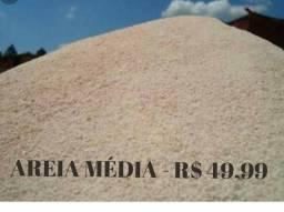Areia média lavada - 49,99