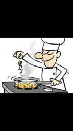 Contrata-se cozinheiro (a)