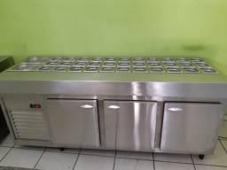 Balcão refrigerado inox ( LFJ inox )