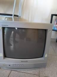 Televisão Panasonic de tubo 14 polegadas