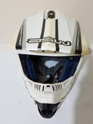 Capacete ASW Trilha Motocross Enduro