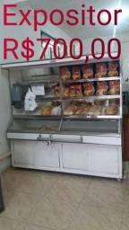 Expositor para pão