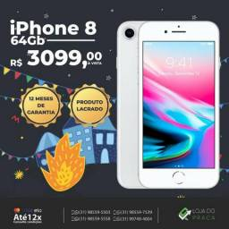 G. iPhone 8 64GB - Lacrado com Plastico!!! Todas as Cores
