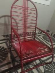 Vendo cadeiras de balanço! na cor vermelha!